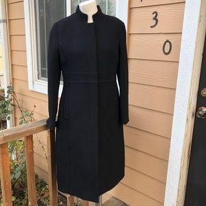 J. Crew gorgeous black trench coat